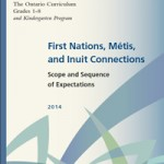 Cover page for the First Nations, Métis, and Inuit Connections Document