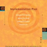 Cover page for the Implementation Plan: Ontario First Nation, Métis, and Inuit Education Policy Framework Document