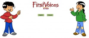 First Voices Website