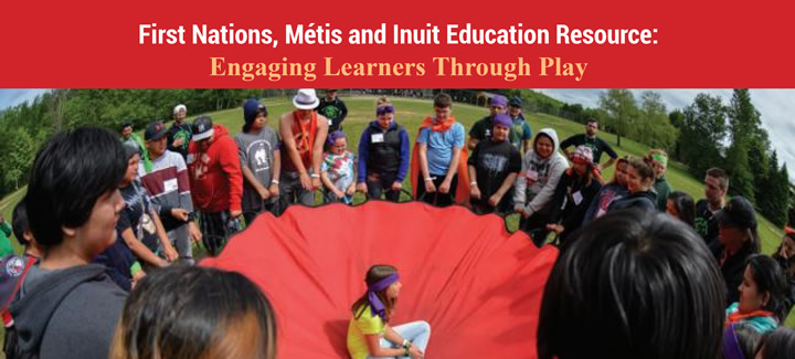 "Access ETFO FNMI Literature Resources, such as the resource depicted: ""Engaging Learners Through Play"""
